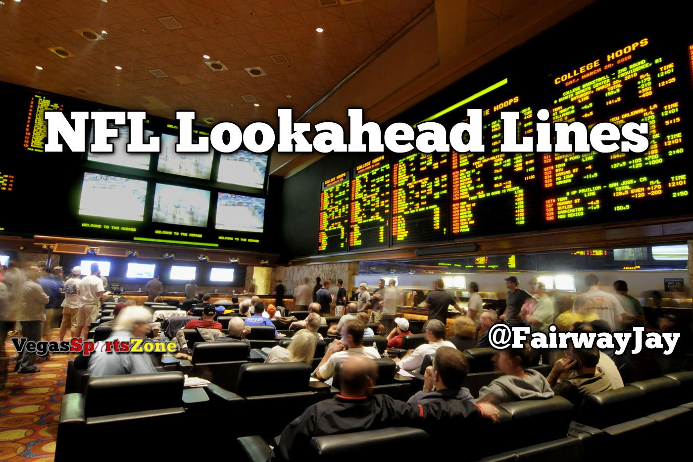 NFL Lookahead Lines Week 5