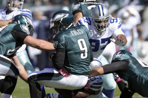 Eagles & Cowboys play week 17 for division title