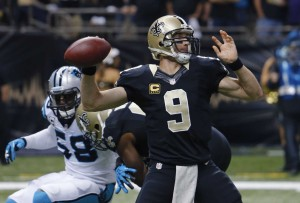 QB Drew Brees & Saints battle the Panthers in Carolina week 16 - winner controls division & #2 playoff seed