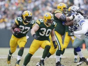 Packers RB Eddie Lacy & FB John Kuhn lead running game resurgence
